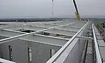 Dachkonstruktion Industriebau, Karlsruhe Rheinstetten