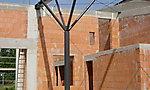 Dachkonstruktion Jugendtreff, KA-Waldstadt