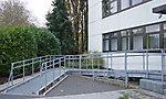 EnBW, Ettlingen Behindertenrampe