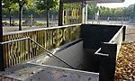 Schloßgarten Karlsruhe Flugdach TG-Fahrstuhl + Geländer