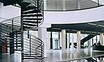 EnBW Hauptverwaltung Spindeltreppe und Hauttreppe