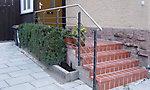 Geländer Eingang Albsiedlung