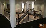 Galeriegeländer und Treppe Kundencenter Commerzbank