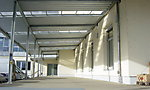 Rampenvordach Industriebau, KA-Rheinhafen